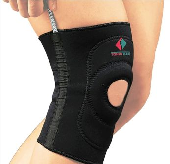 Повязка Tonus Elast для фиксации коленного сустава c пружинными вставками